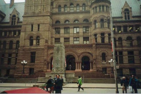 "Old City Hall Courthouse aka ""Wonderland"" Toronto"